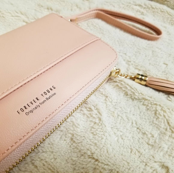 Forever young women's wristlet wallet